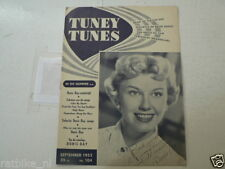 1952-104 TUNEY TUNES MUSIC DORIS DAY COVER SPECIAL,MACRAE,STEPHENS,KIDS,REUVER