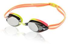 Speedo Vanquisher 2.0 Mirrored Swim Goggles CITRUS GREEN New in Package