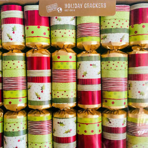 World Market Holiday Party Crackers Poppers 8 Pack Retired Discontinued