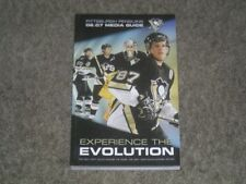 Hockey Pittsburgh Penguins Vintage Sports Media Guides