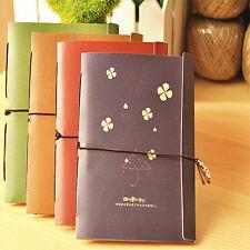 Cahier Travel Notebook journal cahier vente chaude de poche fleur mignonne