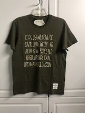 Uniqlo X PHARRELL WILLIAMS I AM OTHER T SHIRT SIZE Small S Olive Green