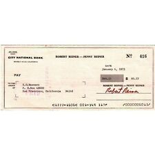 Chèque, Original Signé De Rob Reiner, Film, Télévision, Kino, Autographe, Rare