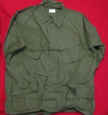 NOS JUNGLE JACKET COAT MANS COTTON EXTRA LARGE REGULAR OG 107