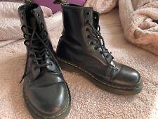 Black Doc Dr.Martens Ladies Womens Size 5 Festival Summer Punk Grunge Boot