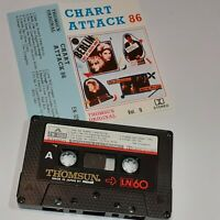 CHART ATTACK 86 THOMSUN IMPORT CASSETTE TAPE ALBUM SHAKY BILLY IDOL BANGLES