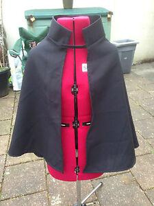 childs highway man rat black  cloak with collar