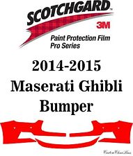 3M Scotchgard Paint Protection Film Pro Series Kits 2014 2015 Maserati Ghibli