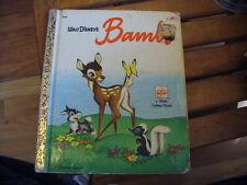 1948 Little Golden Book Walt Disney'S Bambi