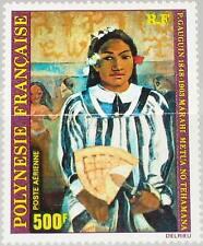 FRENCH POLYNESIA POLYNESIEN 1980 312 C178 Gauguin Paintings Gemälde Kunst MNH