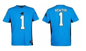 Carolina Panthers NFL Jersey Plamoro Poly Mesh Cam Newton 1 Jersey - New