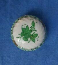 HEREND Apponyi , Scatolina / Little Box Porcellana , Ungheria , no MEISSEN