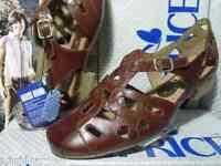 Caprice Sandalen Sandaletten Leder Damenschuhe braun Gr.36-42 24200 Neu24
