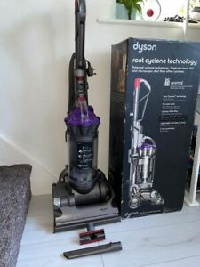 Dyson DC33 Animal Upright Hoover Vacuum Cleaner With Box & Accessories - Cleaned