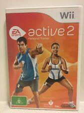 Wii - EA Active 2 Personal Trainer | AUS PAL | Complete Copy!