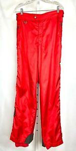 Descente Orange Winter Straight Leg Snow Skiing Snowboard Pants Men's Size 36