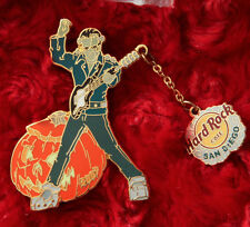 Hard Rock Cafe Pin San Diego FRANKENSTEIN Halloween Brain Dangle guitar pumpkin