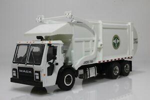 Mack LR Garbage Trash Truck, NYC Sanitation Dept 1:64 Scale Diecast Model