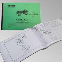 Fendt Ersatzteilliste für Geräteträger F 220, 220/1, 225, 230, 231 GT  231001-2