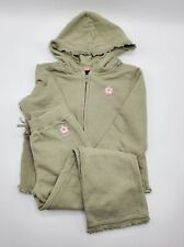 Gap Girls' 100% Cotton 2 Pc Sweatsuit Tracksuit Set Sz 5 Years Pre-owned