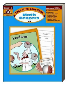 Take It To Your Seat Math Centers Grades 1-3 (Paperback) FREE shipping $35