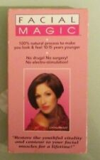 cynthia rowland  FACIAL MAGIC    VHS VIDEOTAPE