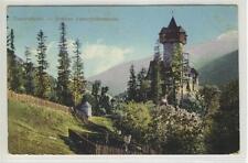 AK Obervellach, Schloss Unterfalkenstein, 1910