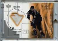 2001 Upper Deck Jaromir Jagr - Top Shelf Game-Used Patch #PJJ (110319-42)