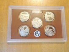 2017 S Clad Proof America The Beautiful Quarter Set  No Box or Coa