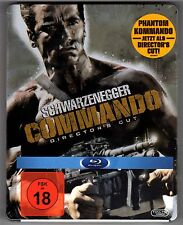PHANTOM KOMMANDO DIRECTOR'S CUT BLU-RAY STEELBOOK NEU & OVP COMMANDO SOLD OUT