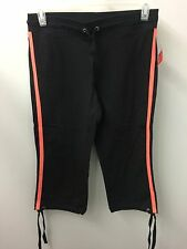 Style&Co. Capris S NWT Black Cropped Active Wear Yoga Gym Pants