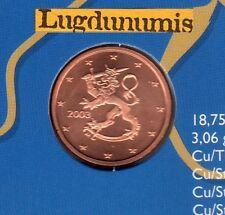Finlande 2003 - 2 Centimes D'Euro  FDC provenant coffret 175000 exemplaires