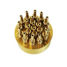 "1.5"" Inch 3 Layers Fountain Nozzle 19 Sprinklers Spray Head Pond Pool Brass New"