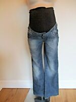 MAMALICIOUS MATERNITY BLUE DENIM FAME BOOTCUT JEANS SIZE 6 8 10 12 BNWT £50