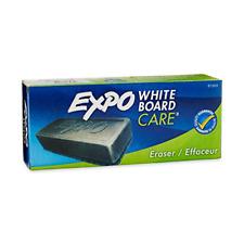 Expo 81505 Block Eraser Dry Erase Whiteboard Board Eraser Soft Pile 5 18 W X