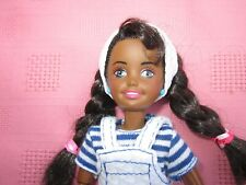 RARE&HTF AFRICAN AMERICAN STACIE DOLL,SISTER OF  BARBIE WEARING LOVELY OUTFIT