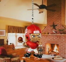 Football NCAA Indiana Hoosiers Quarterback Ceiling Fan Pull Light Lamp K1117 B