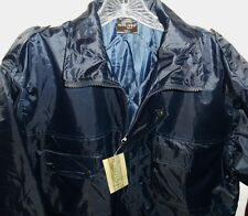 NWT Mil-tec By Sturn Handels GMBH Germany Quilted Blue Coat Jacket Men's Small