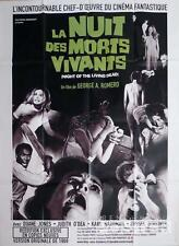 The Night Of The Living Dead - George A Romero - Reissue Large French Poster