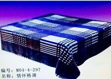 "New Ultra Soft 1pc Flannel Plush Queen Size Velvet Cozy Blanket  Bedspread79X94"""