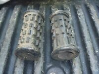 CHAPARRAL • NOS Footpegs Foot Peg Set ST-80 ST-100 T-80 T-95 T-100 SX80 SX100