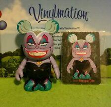 "DISNEY Vinylmation 3"" Park Set 1 Villains Ursula from the Little Mermaid w/ Card"