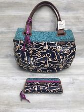 Fossil Key Per handbag tote coated