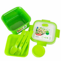 GREEN CURVER    LUNCH BOX ON THE GO 1.1L  ( PASTA RICE SANDWICH PACK LUNCH TUB )