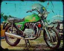 Benelli 650 Tornado 71 A4 Metal Sign Motorbike Vintage Aged