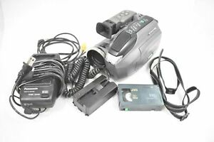 PANASONIC PV-L650D VHS VIDEO RECORDR VHS-C PALMCORDER WITH ACCESSORIES