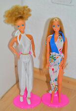 Barbie Magic Curl 2 Puppen in Fashion 80er