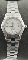 Ladies Tag Heuer Aquarracer Pearl Swiss Quartz Date 27mm Watch WAF1414.BA0813