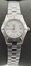 Ladies Tag Heuer Aquarracer Pearl Swiss Quartz Date 27mm Watch WAF1414.BA0813