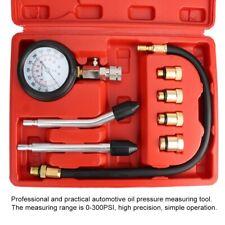 Öldruckprüfer Set Öldrucktester 0-27 Bar Tester Öldruck Messgerät Öldruckmesser